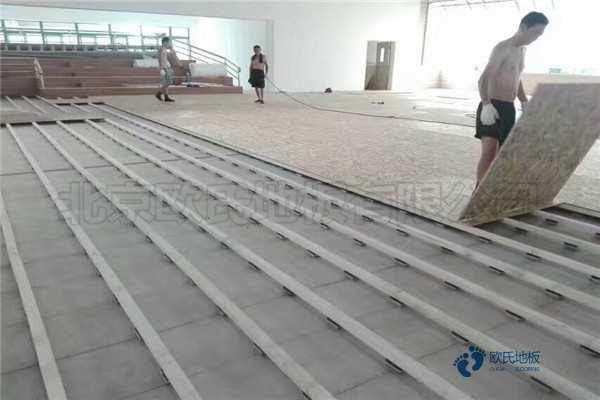 实木篮球木地板多少钱能下来