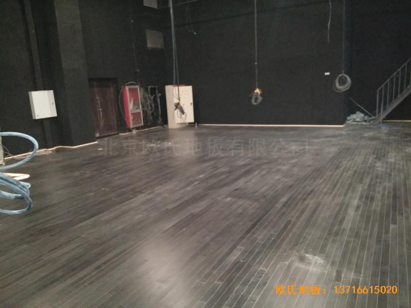 唐山师范学院舞台运动地板铺设案例4