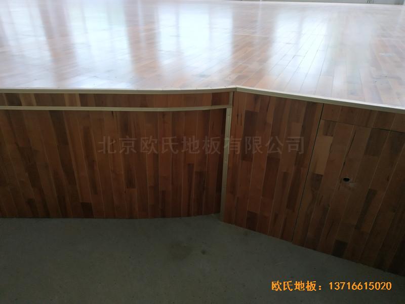 宁夏银川试验中学舞台运动木地板铺装案例3