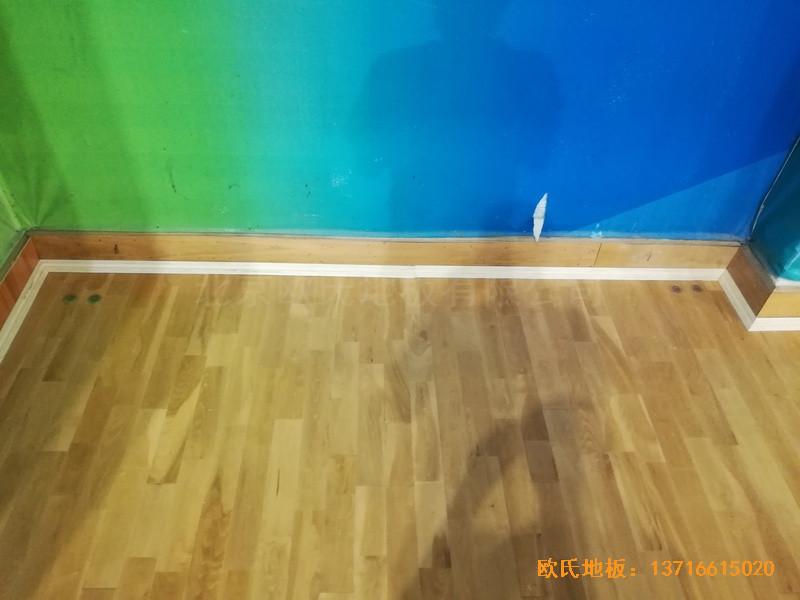 赣州体育馆运动地板施工案例0