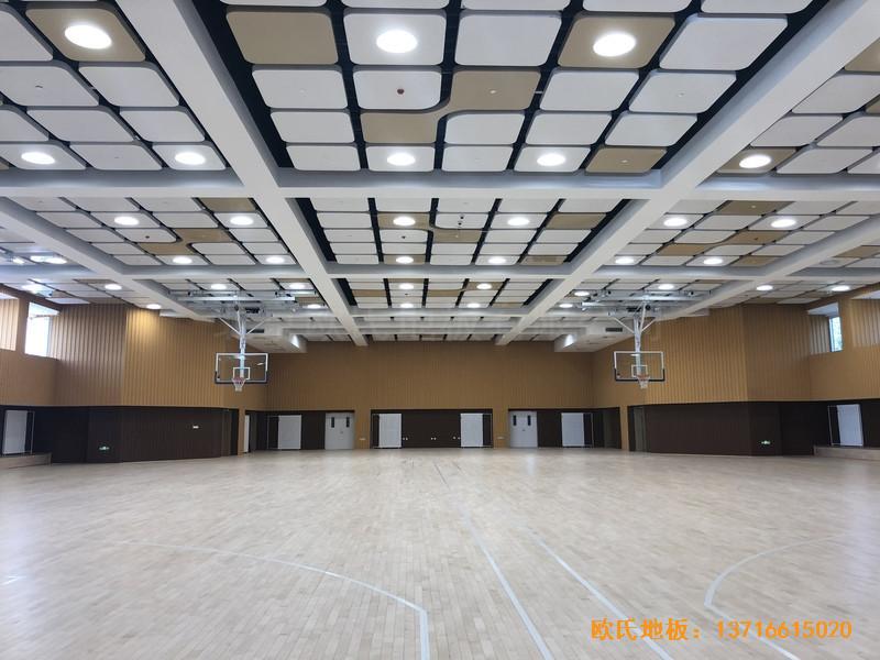 北京昌平新东方体育馆运动地板铺装案例4