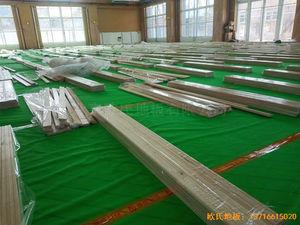 北京大兴区团河路98号运动地板安装案例