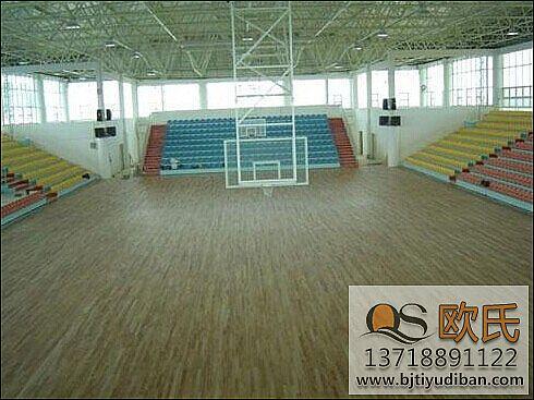 体育馆运动地板案例-体育地板【体育运动木地板厂家