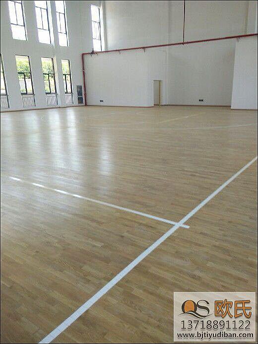 双龙骨系统实木体育地板的特点
