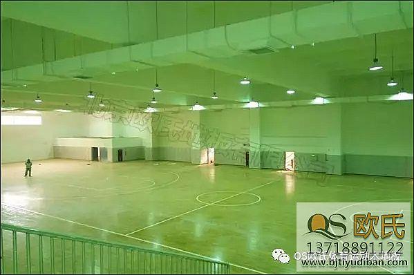 运动木地板--四川攀枝花某学校成功案例