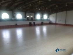 普通运动场木地板施工流程