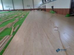 中等运动场馆木地板施工队