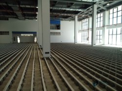 弹性篮球场馆地板