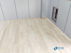柞木体育木地板环保